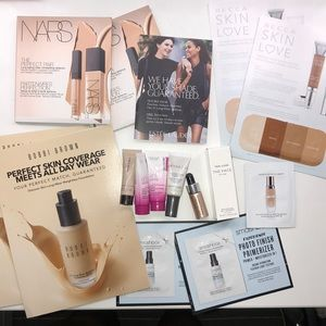 Samples of Foundation and Primer